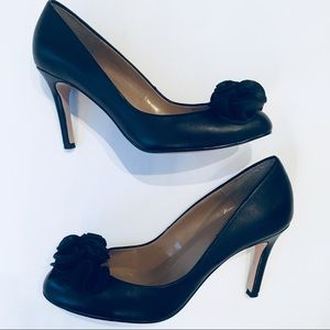 Ann Taylor High Heel Pumps with Bow Size 6.5